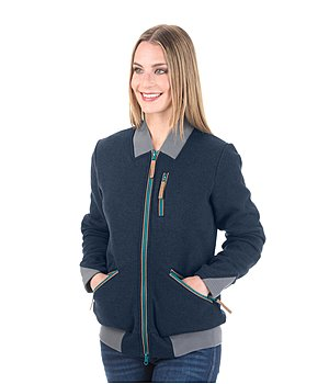 STONEDEEK ladies gebreide fleeceblouson Holly - 182924