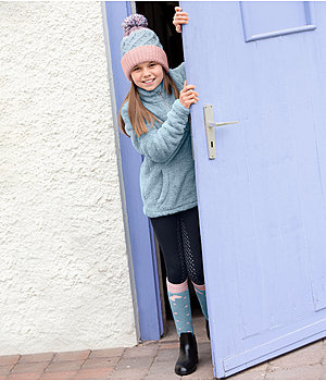 Kids-outfit Nela in smokey grey - OF000104